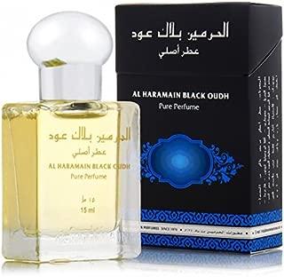 Al Haramain Black Oudh - Oriental Perfume Oil [15 ml]- 6 pack