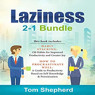Laziness: 2-1 Bundle audiobook cover art