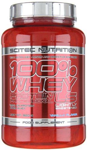 Scitec Nutrition 100% Whey Protein Professional, Vaniglia con poco zucchero, 920 g