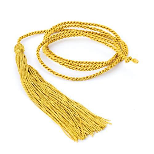 Zugschalter Schnur Kordel Kordelschnur Stoffband (gold)