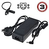SLLEA 4 Pin AC/DC Adapter for Wacom Cintiq 27QHD Touch 27 Creative Pen Display Graphics Tablet DTH-2700 DTK-2700 Power Supply Cord Cable PS Charger Mains PSU