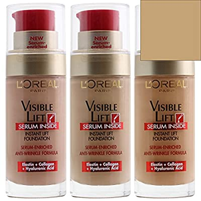 Visible Lift Serum Inside Instant Foundation by L'Oreal Paris Rosy Porcelain 120, 30ml