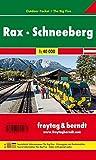 Rax - Schneeberg, Outdoor Pocket, Wanderkarte 1:40.000, freytag & berndt Wander-Rad-Freizeitkarten: Wandelkaart 1:40 000 - Freytag-Berndt und Artaria KG