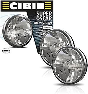 NEW PAIR BLACK & CHROME CIBIE SUPER OSCAR 9