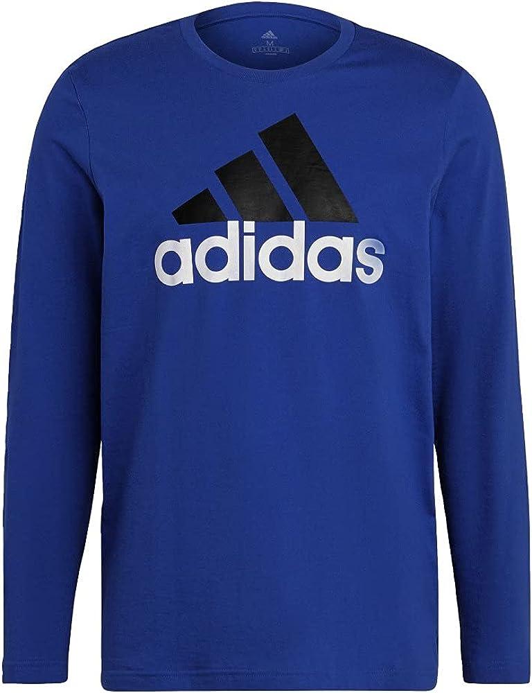 adidas Men's Essentials favorite Sleeve Raleigh Mall Long T-Shirt