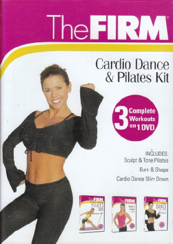 The Firm Cardio Dance & Pilates Kit, 3 Complete Workouts on 1...