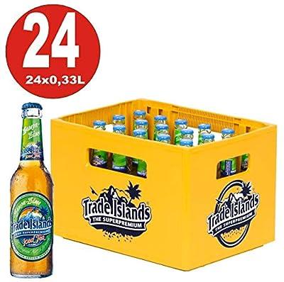 24 x Trade Islands Lemon Lime Premium Ice Tea 0,33L Glasflasche in Originalkiste MEHRWEG