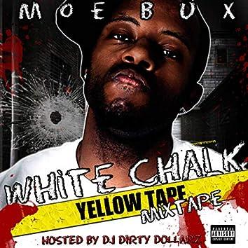 White Chalk Yellow Tape