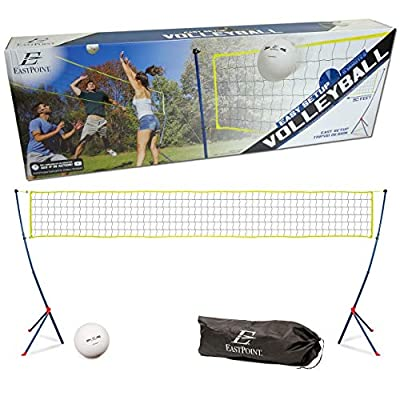 Portable Tripod Volleyball Net Set Easy Setup Game Outdoor Sports Camping Beach WLM8