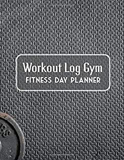Dumbbell : Workout Log Book | Gym, Bodybuilding Journal | EXERCISE JOURNAL | FITNESS NOTEBOOK | CREATIVE GIFT. BIRTHDAY, C...
