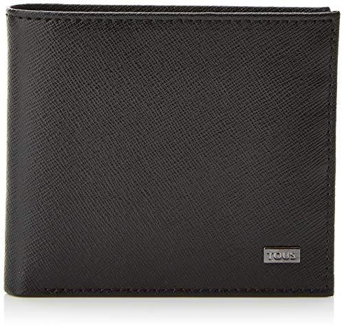 TOUS 095970508, Bolsa y Cartera para Hombre, Negro (Negro), 12x9x1 cm (W x H x L)