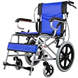 Y-L Rollstuhl, Rollstuhlzugang für Behinderte, Rollstuhl aus Aluminiumlegierung, Einfach in Den Kofferraum des Autos zu Passen -