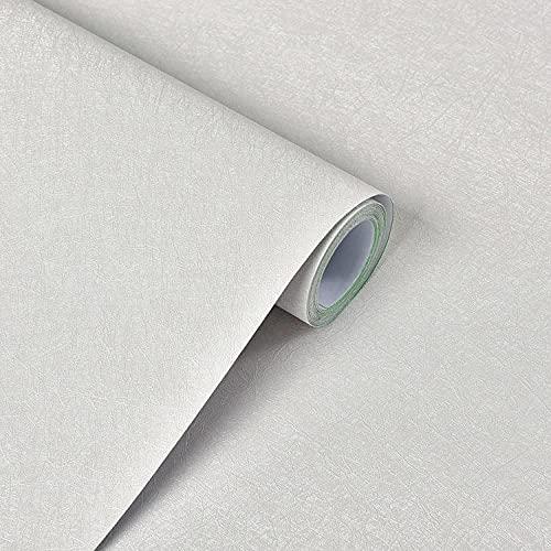 CYN Autoadhesivo ExtraíBle para Pelar y Pegar, Textura de Seda Self Stick Wallpaper PVC Plain Spinketing Fondo Etiquetas de pared-60 cm × 5m_A522