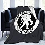 HUXINGXINGzhuangse Wounded Warrior Project Warm Throw Blanket Sofa Blanket Ultra-Soft Micro Fleece Blanket Movies Blanket for Bed Couch Living Room