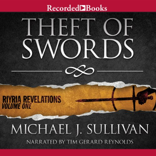 Theft of Swords audiobook cover art