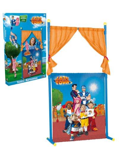 Lazy Town 4588829 - Teatro de marionetas (Simba)