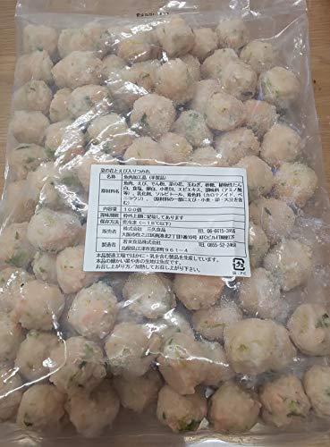 菜の花 と えび 入り つみれ ( 春 ) 1kg(100個) 業務用 椀種 冷凍 (夏)枝豆と海老入りつみれ 季節商品