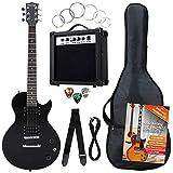 Rocktile L-Pack guitarra eléctr set negro incl. Amp, bolsa, afinador, cable, correa, cuerdas