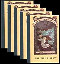 0064407683 Classroom Set of 5 The Wide Window (A Series of Unfortunate Events #3)