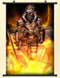 Davrcte Goblin Slayer Wall Scroll Poster Fabric Painting Home Decor Anime Scroll Painting 23.6 * 35.4 Inch (60cm*90 cm)