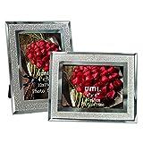 UMI. Essentials Cornici Foto 10x15cm con Vetro Scintillante, 2 Pezzi
