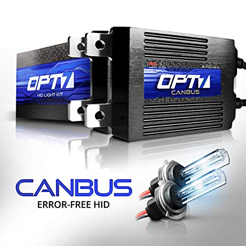 OPT7 Boltzen AC CANbus H7 HID Kit - 5X Brighter - 6X Longer Life - All Bulb Sizes and Colors - 2 Yr...