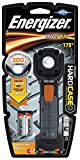 Energizer - Linterna Led Profesional Hardcase Pivot, Cabezal Pivotante, 300 LM, Magnética, Resistente a Caidas y Agua, Pilas Incluidas, Gris