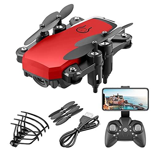 HAOJON Drone Pieghevole con Fotocamera 4K per Adulti Quadricottero con Motore brushless Ritorno Automatico a casa Seguimi a Lungo Raggio di Controllo, Include Borsa per Il Trasporto