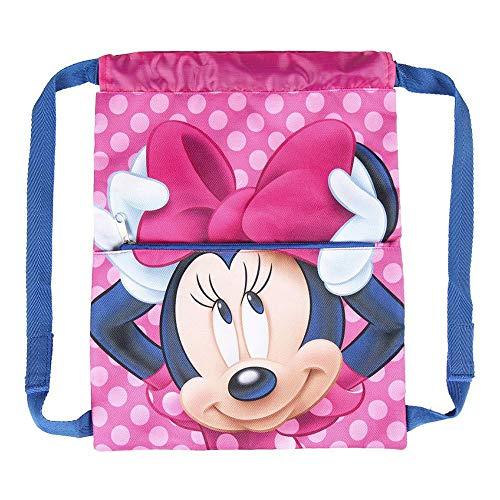 Cerdá, Saquito Guardería de Minnie Mouse-Licencia Oficial Disney Studios Unisex niños, Multicolor, 270X330MM