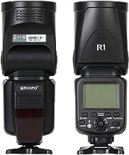 ضوء فلاش سريع R1 من مينستياي 2.4 جيجا هرتز لاسلكي TTL 1/8000s درجة حرارة لون 5600 كيلو 76 واط مع 16 قناة متوافقة مع كاميرا كانون نيكون