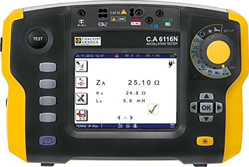 Chauvin Arnoux C.A 6116N Installationstester