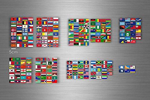 pas cher un bon Akacha usine conseil autocollant autocollant drapeau pays stockage classification monde timbre r2