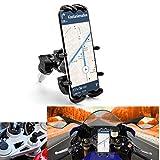 Motorcycle Phone Holder Mount GPS Navigation Bracket for Motorbike 13-20mm Fork Stem Holes
