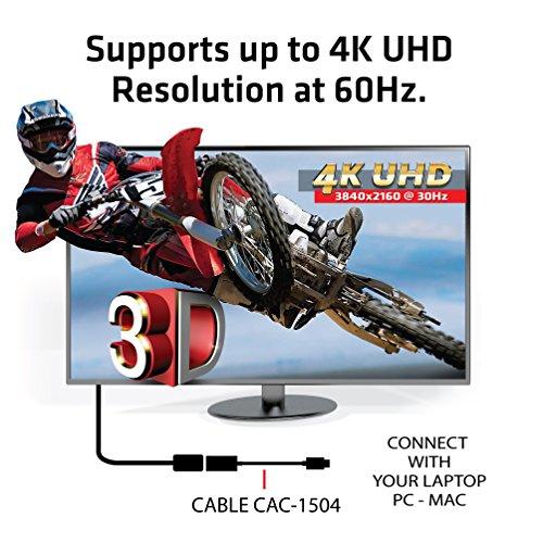 『Club 3D USB 3.1 Type C to HDMI 2.0 4K 60Hz UHD / 4K ディスプレイ Active Adapter 変換アダプタ (CAC-1504)』の4枚目の画像