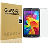 [2 Pack] KIQ Galaxy Tab 4 7.0 SM-T230 Tempered Glass Screen Protector, 9H Tough 0.30mm Bubble-Free Anti-Scratch Self-Adhere Easy-to-install For Samsung Galaxy Tab 4 7.0 T230