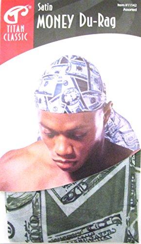 Titan Classic Satin Durag Cap - Money #11142