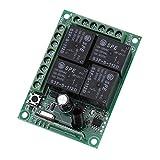 12 V 433 MHz 4CH controller per interruttore wireless RF, interruttore per telecomando wir...