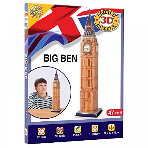 Cheatwell Games Big Ben - Puzzle en 3 Dimensiones
