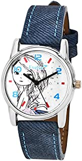 Evelyn Analogue White Dial Women's Watch -Eve-492