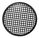 HQ Power 5' Black Metal Speaker Grille Soporte de Altavoz Negro - Soporte para Altavoces (Metal, Negro, 12,7 mm, 12,7 mm)