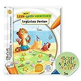 Ravensburger tiptoi ® Buch   Logisches Denken - Mein Lern-Spiel-Abenteuer + ABC Buchstaben Lernen Sticker