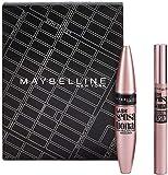 maybelline new-york - cofanetto occhi: mascara cils sensational 01 nero 9,4 ml + siero ciglia sensational 5,3 ml