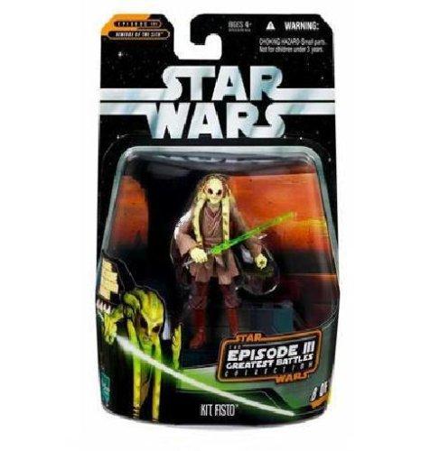 Hasbro Star Wars The Saga Collection Kit Fisto Episode III Greatest Battles 8 of 14