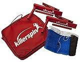 Killerspin Table Tennis Clip-On Net & Post Set - Definitely The Easiest Net & Post Set to Assemble