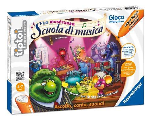 Ravensburger Tiptoi 00574 Jeu La Mostruosa Scuola di Musica - version italienne