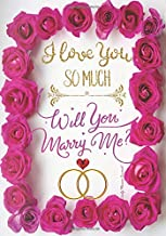 I Love You So Much Will You Marry Me Daily Planner Journal: Unique Cute Marry Me Proposal Gift Idea: Inspirational Agenda Organizer Notebook To Write In