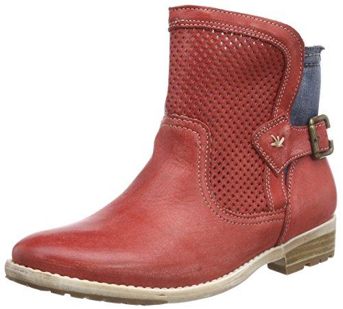 Stockerpoint Damen Schuh 7010 Schlupfstiefel rot, 36 EU