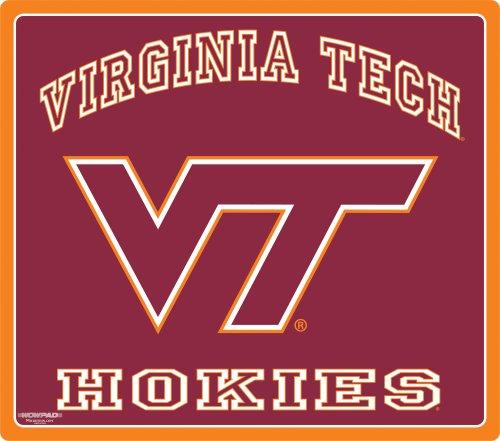 Wow!Pad 78WC044 Virginia Tech Collegiate Logo Desktop Mouse Pad