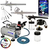 Best Airbrush Kits - Master Airbrush Professional 3 Airbrush Kit with Compressor Review