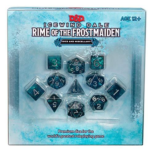 Dungeons & Dragons Icewind Dale: Rime of the Frostmaiden Würfel und Zubehör (Englische Version)
